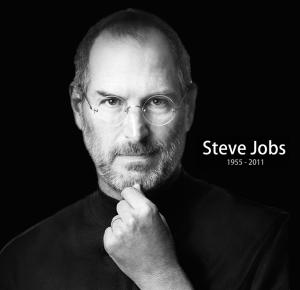 steve jobs black